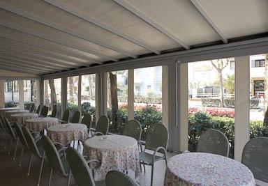 Tende Trasparenti Per Verande : Foto tende da sole e coperture installate da abc tende di firenze