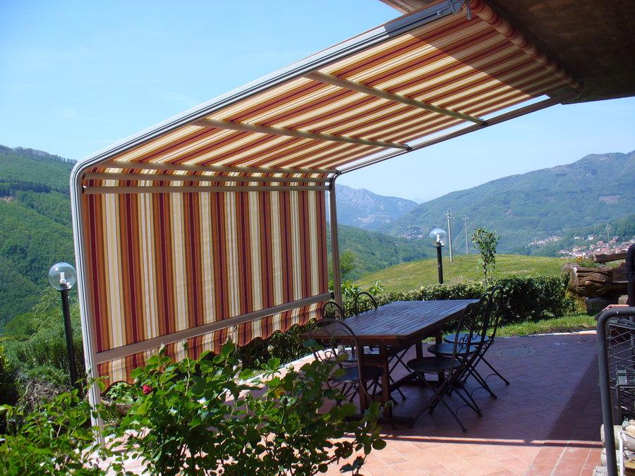 Tende Per Esterni Resistenti Al Vento.Foto Tende Da Sole E Coperture Installate Da Abc Tende Di Firenze