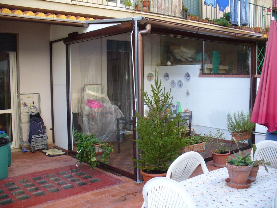 Tende Veranda Trasparenti : Foto tende da sole e coperture installate da abc tende di firenze